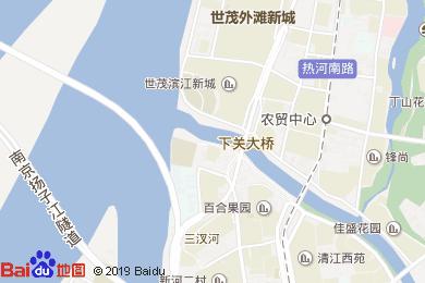 世茂滨江希尔顿酒店明轩中餐厅地图