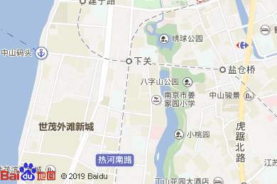 綠楊春大酒店(姜家園店)地圖