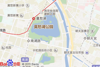 丽枫酒店(麗枫LAVANDE)南京水西门大街莫愁湖店地图