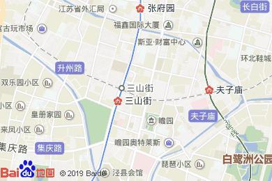 世紀緣大酒店(三山街店)地圖