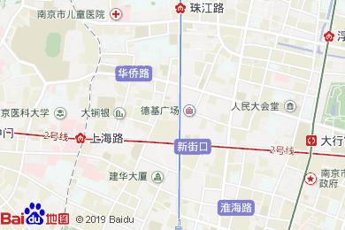 侨鸿皇冠假日酒店中餐厅地图