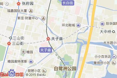 悅华大酒店中餐厅地图
