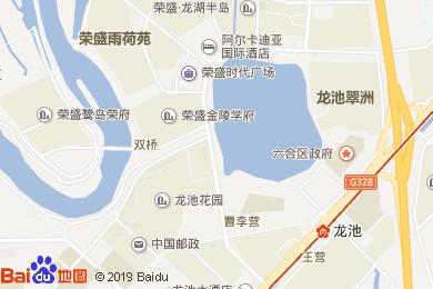 郁汁龙虾(阿尔卡迪亚国际酒店)地图