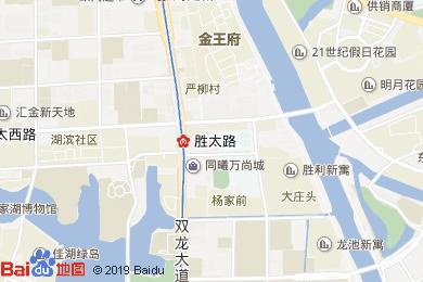金長城大酒店-音樂茶吧地圖