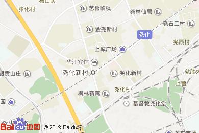 華江賓館-茶吧地圖