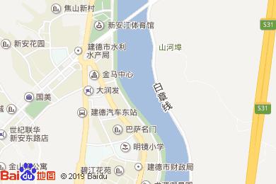 半岛凯豪大酒店(餐饮部)地图