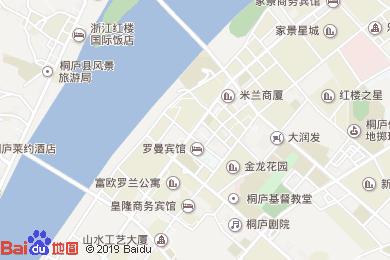 富春江勵駿酒店餐廳地圖