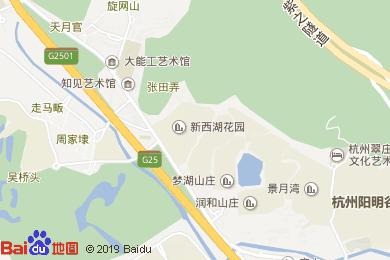 云栖玫瑰园度假酒店(中餐厅)地图