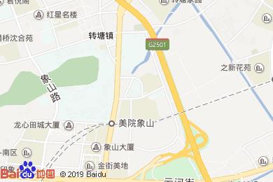鉑悅藍灣酒店餐廳地圖