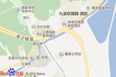 杭州云棲海航度假酒店云竹樓地圖