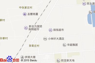沽河人家生態酒店地圖