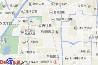 杭州新西莱大酒店-大堂吧地图
