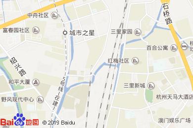 杭州宝衣商务酒店-餐厅地图