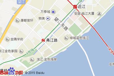 杭州尊藍錢江豪華精選酒店-宴會廳地圖