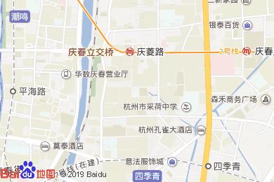 銀橋大酒店·婚宴(慶春東路店)地圖