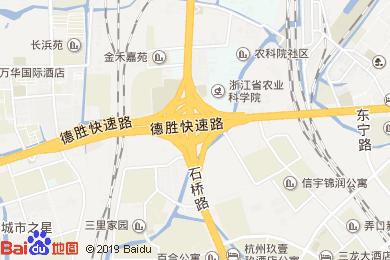 杭州郡富國際大酒店-大堂吧地圖