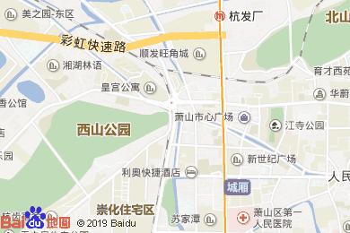 金马国际酒店-海鲜池地图