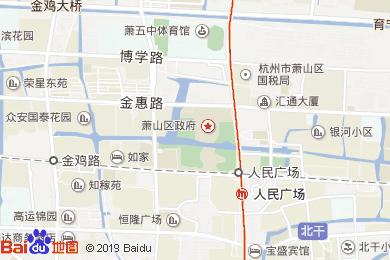 杭州開元名都大酒店(康樂部)地圖