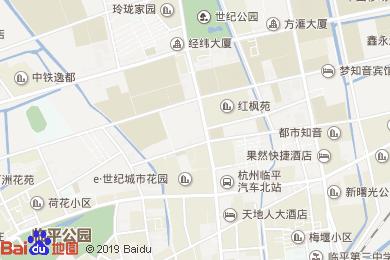 名家后花園酒店地圖