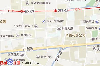 萬商國際酒店-中餐廳地圖