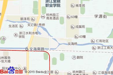 重庆鸡公煲(杭沙酒店)地图