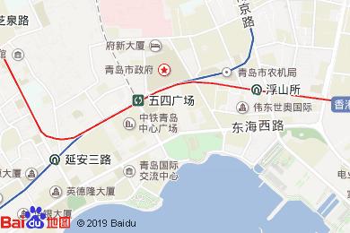 青島香格里拉大酒店(香宮中餐廳)地圖