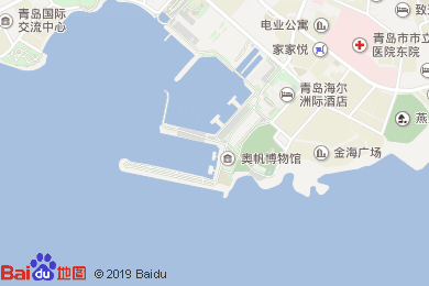 海尔洲际酒店月饼地图