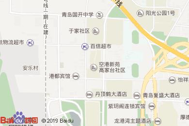 海天翔大酒店(餐飲部)地圖