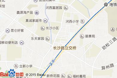 小河沿酒店地图