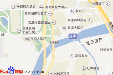 复盛大酒店二店(流亭商业街店)地图