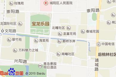 寶龍福朋酒店中餐廳地圖
