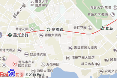 海景花园大酒店-凯旋大厅地图