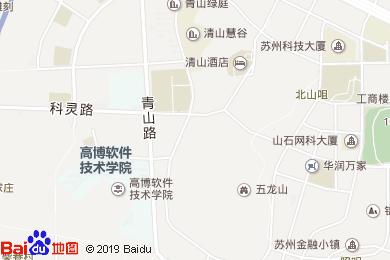 清山酒店(東2門)地圖