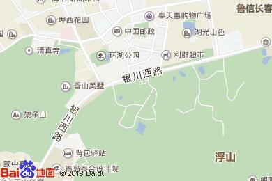 中港仙家酒店地图