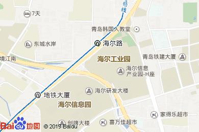 麒麟大酒店面包房地圖
