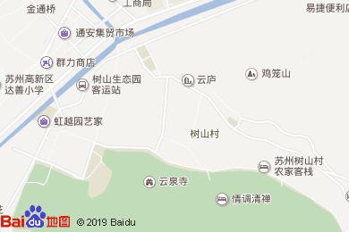 苏州树山神府酒店地图