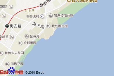 青島魯商凱悅酒店REGENCY CLUB地圖
