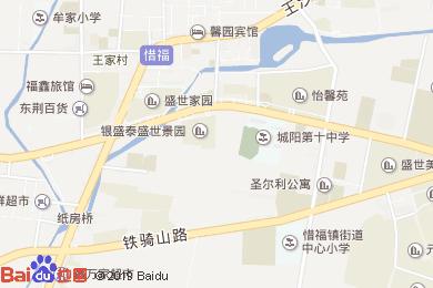 瀚源世紀公寓酒店-韓式餐廳地圖