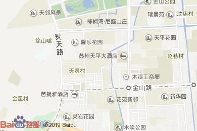 凱倫世紀酒店-中餐廳地圖