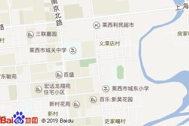 清華緣快餐酒店地圖