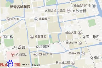 席家花园酒店(玉山路店)地图