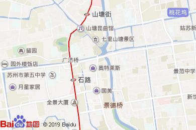 咸亨酒店(石路店)地圖