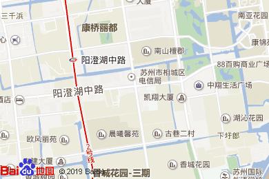 白金漢爵大酒店自助餐廳(相城店)地圖