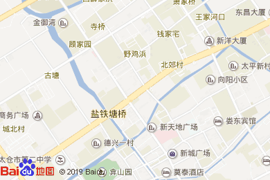 太倉金陵花園酒店宴會廳(原太倉花園酒店)地圖