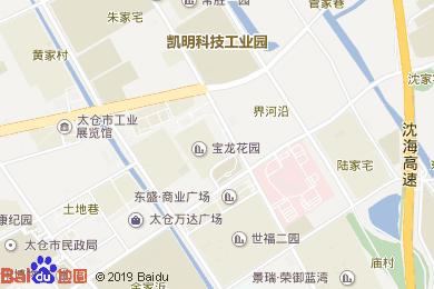 太倉寶龍福朋酒店(西餐廳)地圖